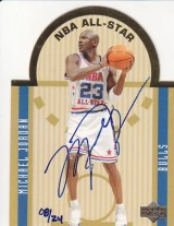 2003-04 Ultimate Collection Michael Jordan Autograph