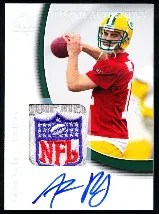 2005 Sp Authentic Aaron Rodgers Patch Auto RC