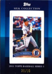 2011 Topps Silk Collection Magglio Ordonez