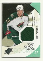 2010-11 Spx Cody Almond RC Jersey #/799