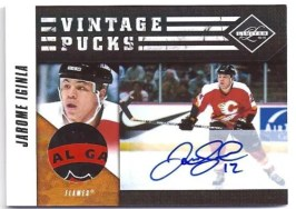 2010/11 Limited Jarome Iginla Vintage Pucks