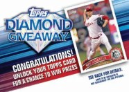 2011 Topps Series 2 Diamond Giveaway Code