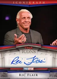 2010 TNA Icons Ric Flair Autograph Iconigraph