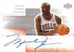 2003/04 Upper Deck Ultimate Collection Michael Jordan Auto