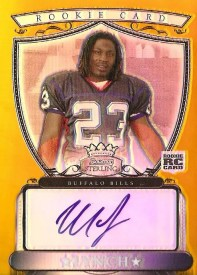 2007 Bowman Sterling Marshawn Lynch Autograph Card