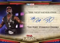 2010 TNA Icons D'Angelo Dinero Autograph