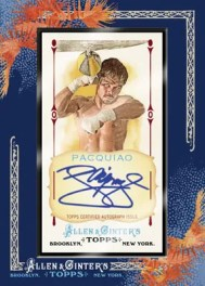 2011 Topps Allen & Ginter Manny Pacquiao Autograph