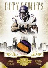 2010 Plates & Patches Adrian Peterson City Limits