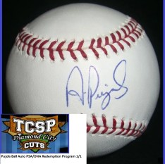 2011 Tri-City Sports Albert Pujols Auto PSA/DNA Baseball
