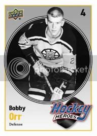 10/11 UD Series 2 Bobby Orr Heroes