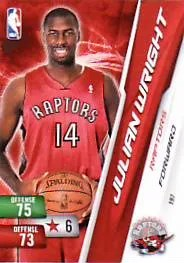 2010-11 Adrenalyn NBA Series 2 Julian Wright Code