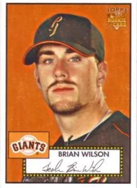 2006 Topps '52 Style Brian Wilson Rookie RC Card