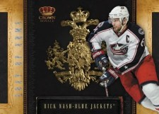 2010/11 Panini Crown Royale Coat of Arms Rick Nash Insert Card