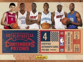 2010 Panini Contenders Patches Hobby Box
