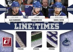 10/11 Donruss Hockey Line of the Times Patch