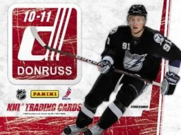2010/11 Donruss Hockey Box