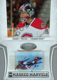 2010/11 Certified Carey Price Toronto Expo Auto
