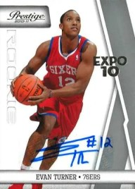 2010/11 Evan Turner Toronto Expo Rookie RC Auto