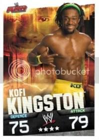 2009 Slam Attax Evolution Kofi Kingston