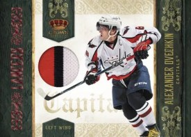 2010/11 Panini Crown Royale Lancers Alex Ovechkin Jersey Card
