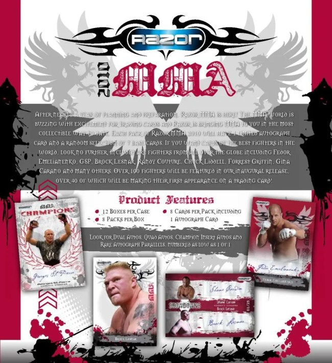 2010 Razor MMA Sell Sheet