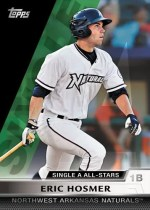 2011 Topps Pro Debut Single A All Star Eric Hosmer Insert Card