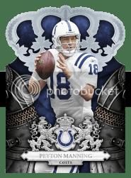 2010 Crown Royale Peyton Manning Base Card