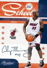 2010-11 Panini Prestige Alonzo Mourning Old School Autograph