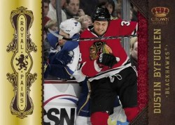 2010/11 Panini Crown Royale Pains Dustin Byfuglien Insert Card