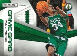2010/11 Panini Rookies and Stars Game Garb Paul Pierce Jersey Card