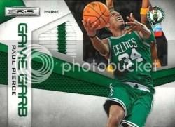 2010/11 Panini Rookies and Stars Game Garb Paul Pierce Jersey Card