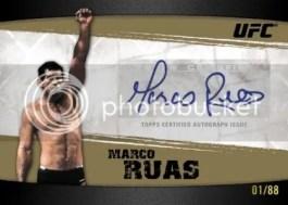 2010 Topps UFC Knockout Marco Ruas Autograph