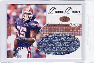 2005 Sage Autographed Channing Crowder Rookie Auto