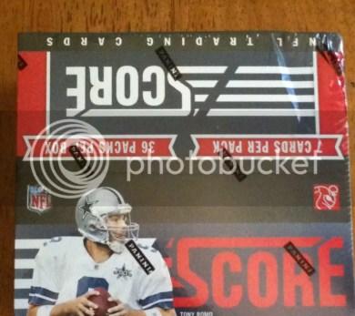 2011 Score Football Box