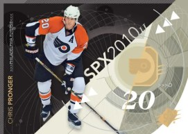 2010/11 Chris Pronger Spx Base Card