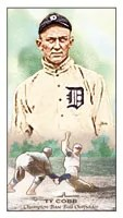 2011 Topps Ty Cobb Kimball Mini Card