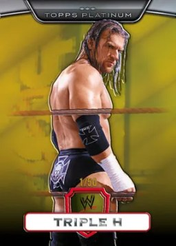 2010 Topps WWE Gold Parallel Triple H