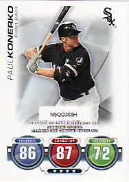 2010 Topps Attax Paul Konerko
