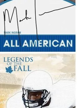 2011 Press Pass Legends Mark Ingram Autograph