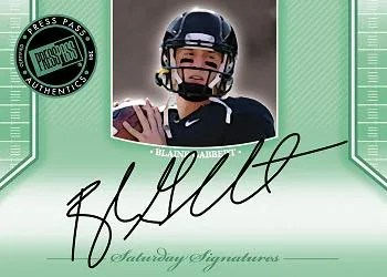 2011 Press Pass Legends Blaine Gabbert Autograph