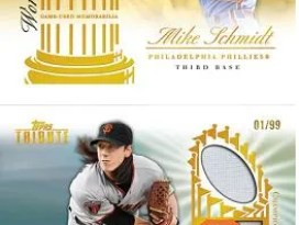 2012 Topps Tribute Tim Lincecum Championship Material