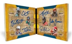2011 Topps 5 Star Football Six Autograph Book Card