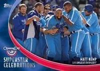 2012 Topps Opening Day Superstar Celebrations Matt Kemp