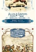 2012 Topps Allen & Ginter Historical Turning Points