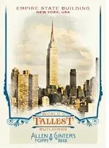 2012 Topps Allen & Ginter Worlds Tallest Buildings