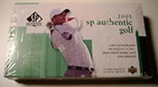 2005 Upper Deck SP Authentic Golf Hobby Box
