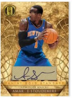 2010-11 Panini Gold Standard Signatures Amare Stoudemire Card