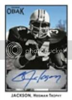 2011 TriStar Obak Bo Jackson Autograph Card