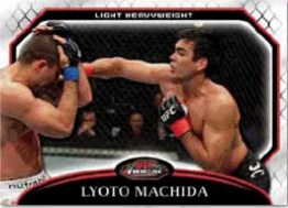 2011 Topps Finest UFC Lyoto Machida Base Card