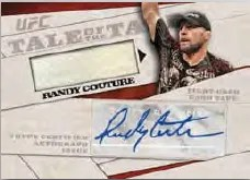 2011 Topps UFC Moment of Truth Tale of the Tape Relic Auto